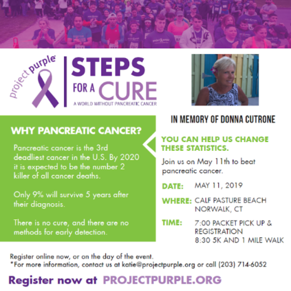 Steps for a Cure of Pancreatic Cancer 5K Run/Walk at Calf